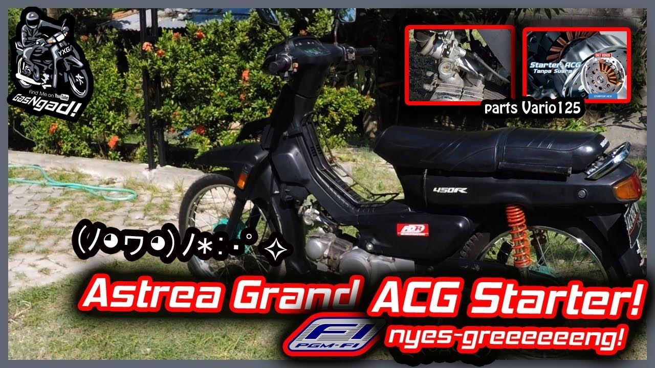 04 ACG Starter Vario 125 Di Honda Grand Nyes Greeeng Mini Review