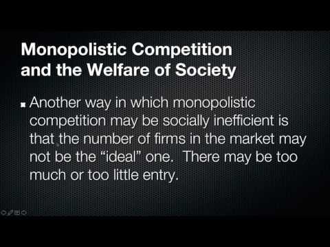 Monopolistic Competition Video
