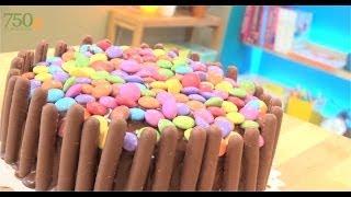 Gâteau d'anniversaire au chocolat - 750 Grammes