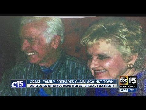 Crash family prepares claim against town
