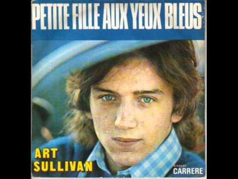 Art Sullivan - Petite fille aux yeux bleus