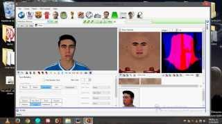 Crear Faces FIFA 14 PC -  Parte 5 Importar Face con Creation Master 14 2