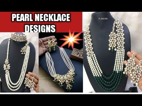 latest-pearl-necklace-designs-for-marriage-and-party-wear-||-2020-new-pearl-necklace-designs