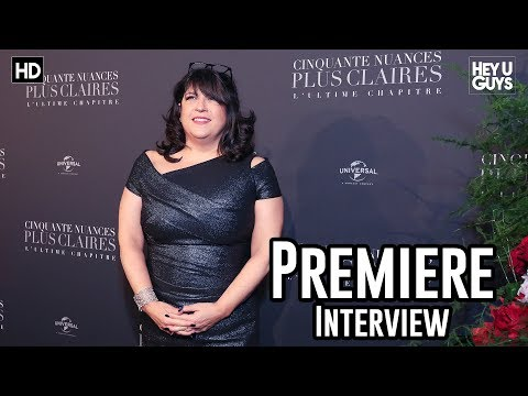 Author Erica James - Fifty Shades Freed Premiere Interview