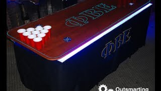 The Formidable Beer Pong Table