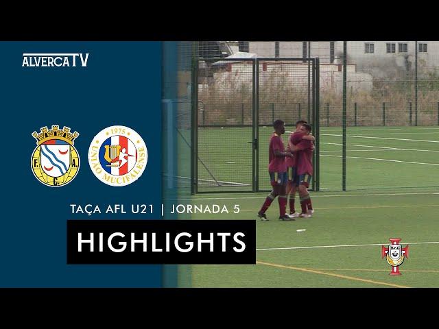 FC Alverca 2 - 0 Mucifalense | Highlights