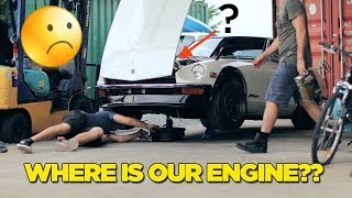 240Z - Where Is Our Engine? (+ NEW PROJECT!)