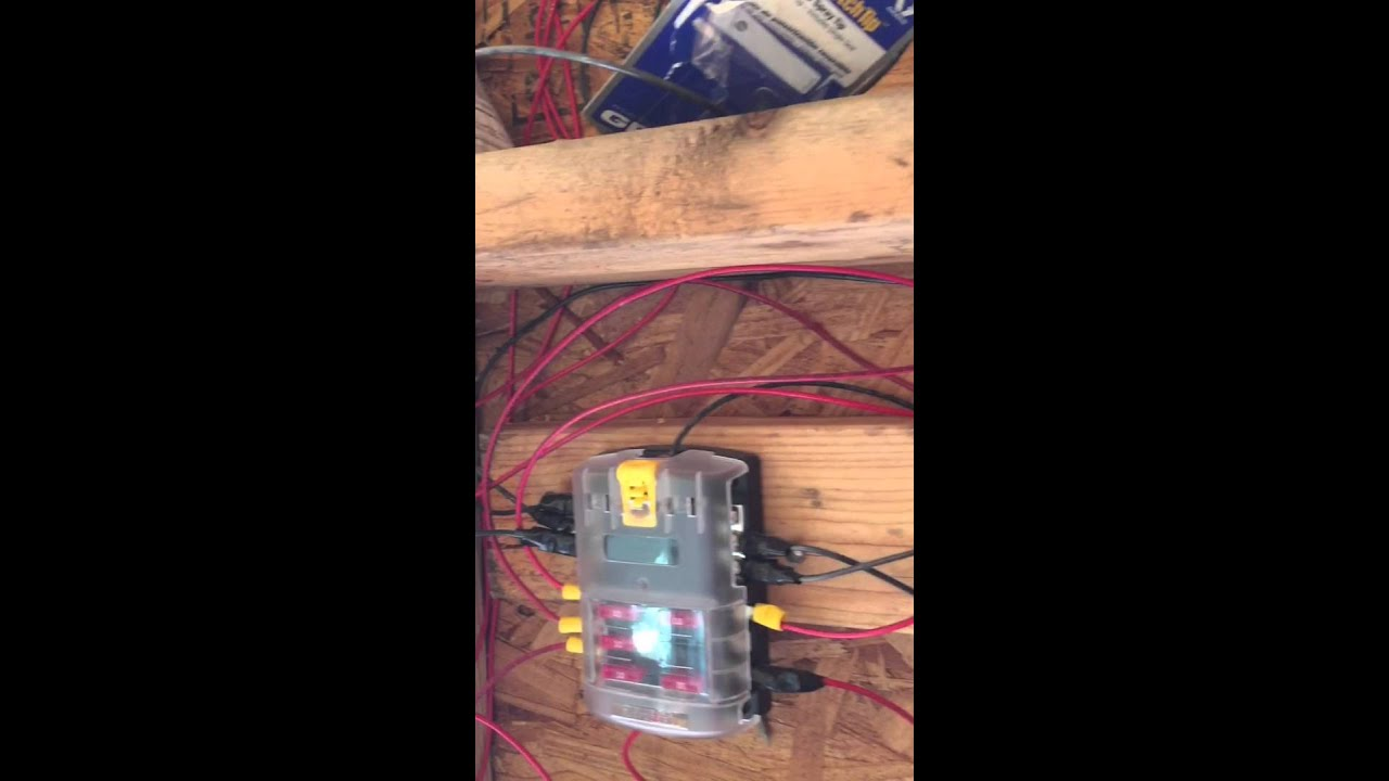 12 volt off grid cabin lighting cheap 400 whole house youtube rh youtube com Off-Grid Wiring 12 Volt Home Power System