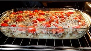 кЛАССНЫЙ Рецепт из самых ПРОСТЫХ ИНГРЕДИЕНТОВ! Bкусная запеканка! / Casserole recipe!