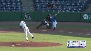 American Baseball Championship: No. 2 Cincinnati 11, No. 7 Memphis 6 Video