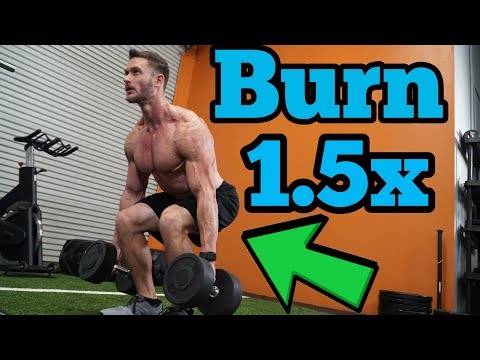 Do This Routine to Burn up to 1.5x More Fat on Leg Day