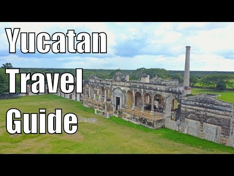 Yucatan, Mexico Travel Guide 2018- 10 AMAZING Things To DO ! (Mexico Travel Vlog)