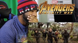 Avengers: Infinity War Official Trailer REACTION!!! (HOLDING BACK TEARS)