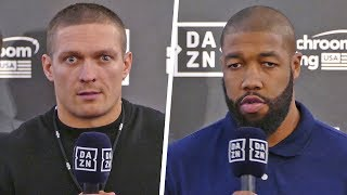 Oleksandr Usyk vs. Chazz Witherspoon FULL FINAL PRESS CONFERENCE | Matchroom Boxing USA