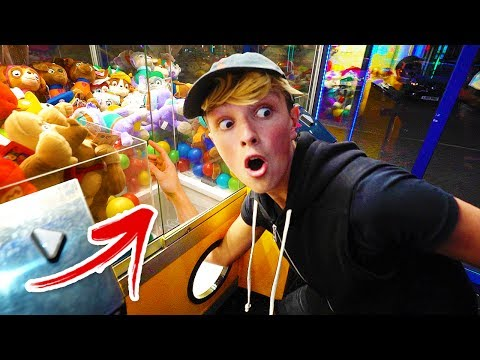 NEVER DO THIS AT THE ARCADE!! (kicked out)