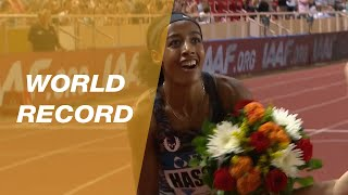 Sifan Hassan sets a World Record in Monaco  - IAAF Diamond League 2019