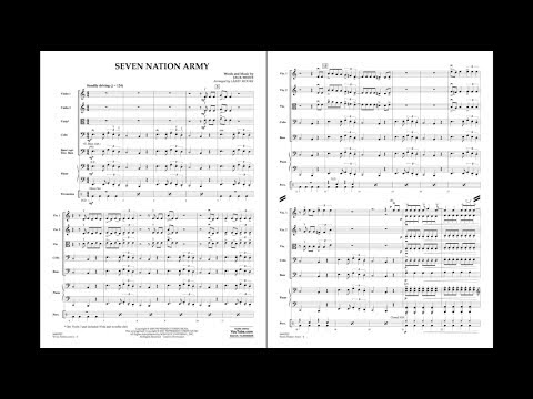 Seven Nation Army by Jack White/arr. Larry Moore