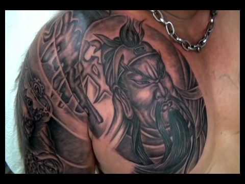 Quan Cong tattooed by AnnaHang (xam nghe thuat)