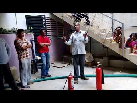 GR Shanthinivas Fire Extinguisher Demo