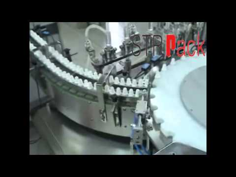 eye drop liquid filling, stoppering, capping production machine
