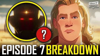 Marvel WHAT IF Episode 7 Breakdown \u0026 Ending Explained Review | Every Easter Eggs \u0026 Cameo You Missed