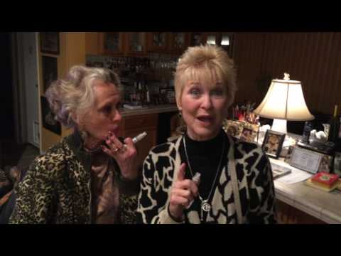 Tippi Hedren and Dee Wallace try Alert Drops and love them