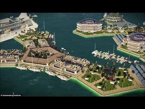 """FIRST """"FLOATING CITY"""" COULD BE BUILT IN THE PACIFIC OCEAN IN 2019"""