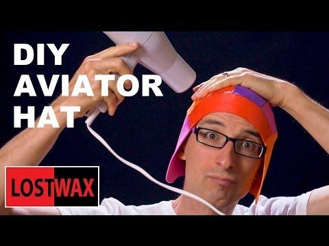 DIY Aviator Hat Tutorial. How To Make A  Steampunk Flight Hat From Foam