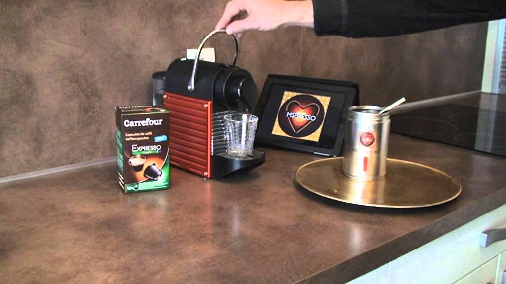 Mspresso Video Carrefour Expresso Capsule