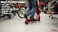 Horwin L1 250W sininen E-Scooter skootteri (Karkkainen.com)