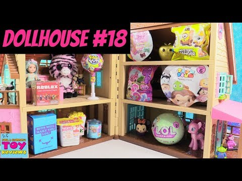 Blind Bag Dollhouse #18 Unboxing LOL Surprise Pikmi Pops Disney Roblox Toy | PSToyReviews