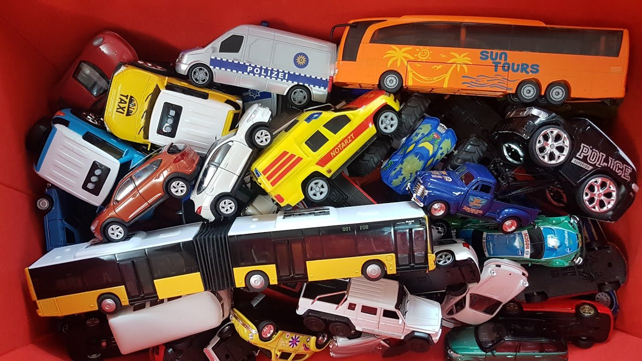 Review 66 Toy Cars For Boys Video For Kids NEW