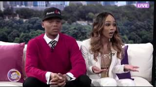 Sister Circle Live | Ronnie & Shamari DeVoe 'Married 4 Life'