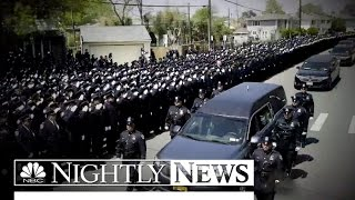 Thousands Mourn NYPD Officer Brian Moore At Funeral | NBC Nightly News