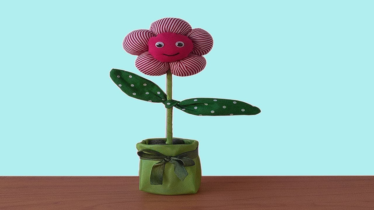 Cara Membuat Bunga Pompom dari Kain Perca - YouTube 3b896e415d