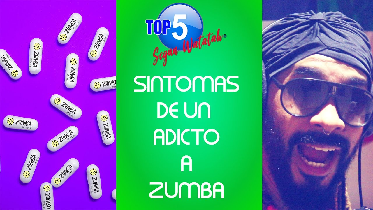 TOP 5 SINTOMAS DE UN ADICTO A ZUMBA (English Subtitled)
