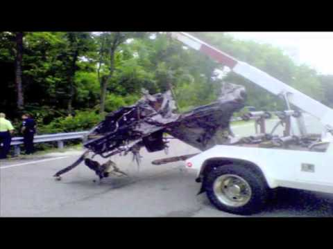 Ryan Dunn Car Accident Photos