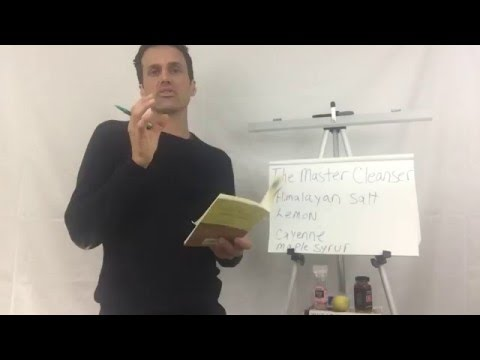How to do the Master Cleanse diet – book review