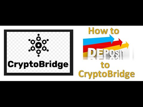How to Deposit to CryptoBridge Decentralized Exchange from CoinBase