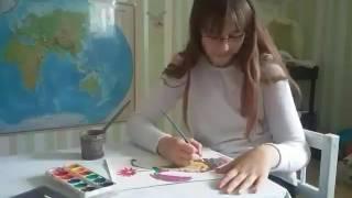 Типы учеников на уроке рисования