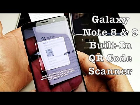 Galaxy Note 8/9: How to Scan QR Code w/ Built-In Scanner (No Downloads)