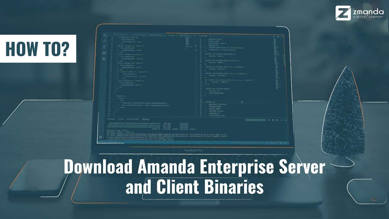 Amanda open source backup | zmanda.