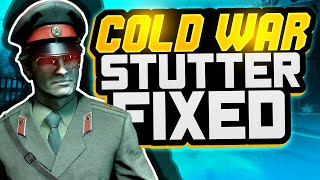 Black Ops Cold Wąr Lag Stuttering Problem FIXED   Cold War FPS BOOST (PC ONLY)