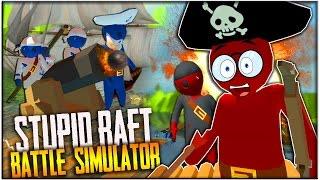 TABS + GANG BEASTS = DIESES SPIEL?! (Stupid Raft Battle Simulator)