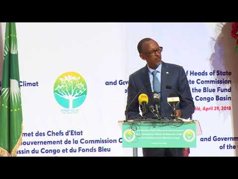 Heads of State and Government Summit of the Congo Basin Commission   Brazzaville, 29 April 2018