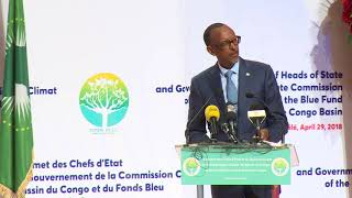 Heads of State and Government Summit of the Congo Basin Commission | Brazzaville, 29 April 2018