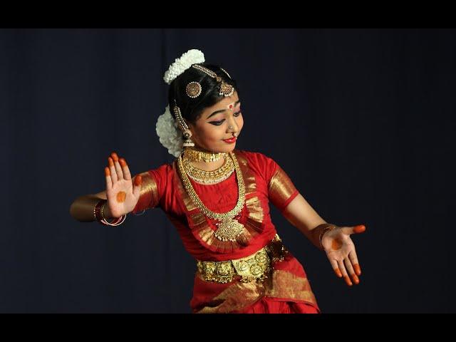 Parameswari Sabdam by Vishwasree - Sridevi Nrithyalaya - Bharathanatyam Dance
