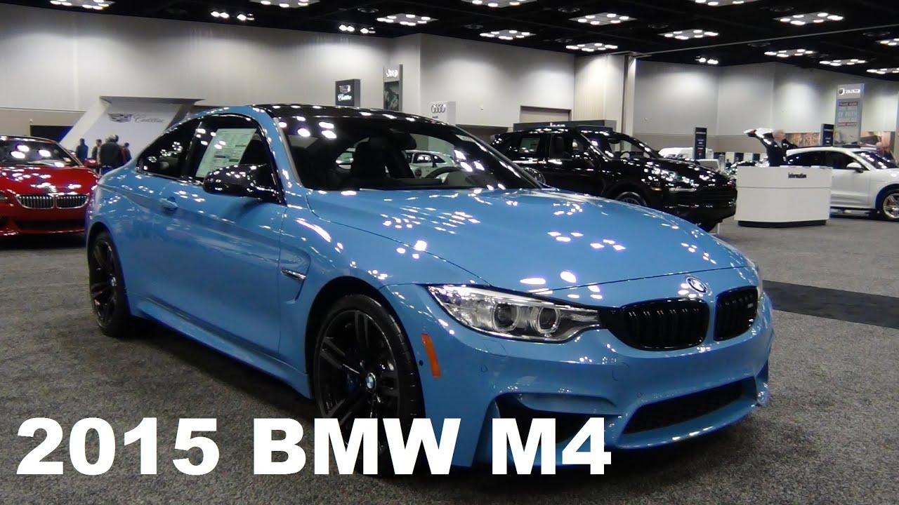2015 Bmw M4 In Yas Marina Blue Youtube