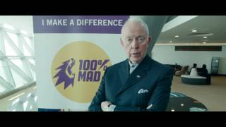 #WILTalks  Tony Buzan is a 100% MAD about #MakingChangeHappen