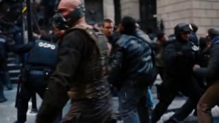 """Бэтмен против Бейна в фильме """"Темный Рыцарь Возрождения Легенды"""" часть 2"""